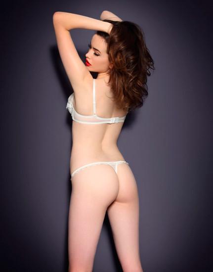 Австралийская модель Сара Стивенс снялась в рекламе Agent Provocateur . Изображение № 29.