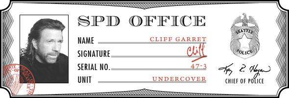 В роли Клиифа Гэррета —Чак Норрис. Изображение № 7.