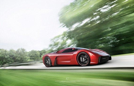 Представлен новый концепт суперкара на базе Ferrari 458 Italia. Изображение № 7.