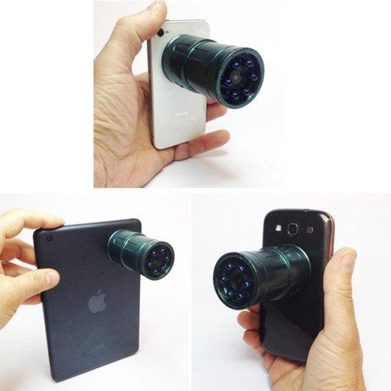 На Kickstarter начался сбор средств на прибор ночного видения для смартфонов. Изображение № 5.