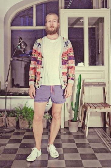 Марка Uniforms for the Dedicated опубликовала лукбук весенней коллекции одежды. Изображение № 18.