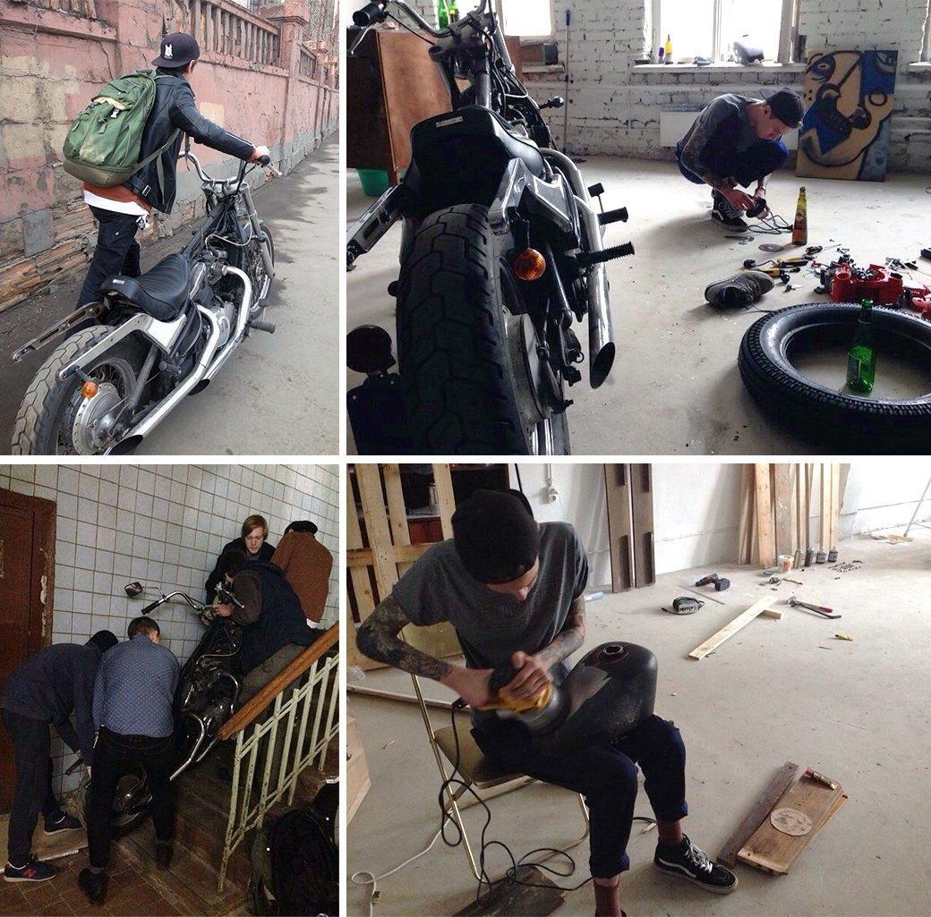 Эксперимент FURFUR: Как кастомизировать свой мотоцикл. Изображение № 9.