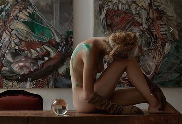 Бельгийская модель Элиза Сис снялась для журнала Treats!. Изображение № 5.