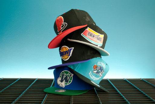 Новая коллекция кепок магазина Hall Of Fame с логотипами команд НБА. Изображение № 3.