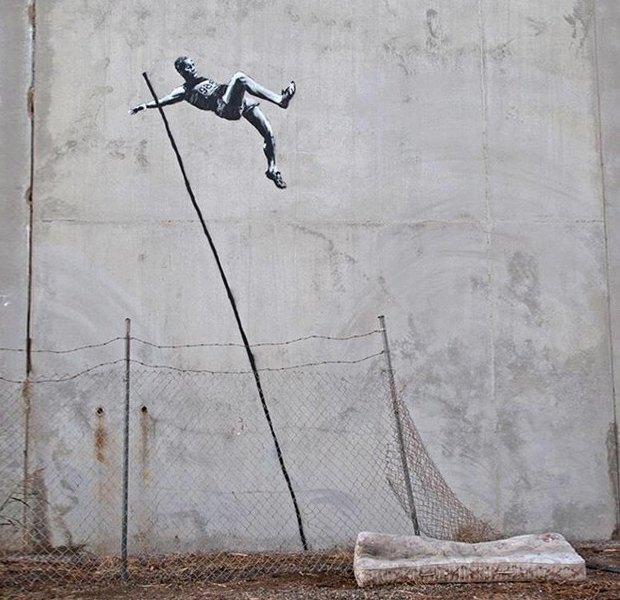 «High Jump», Бэнкси, 2012. Изображение № 17.