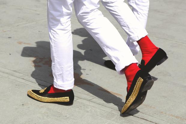 Детали: Репортаж с выставки мужской одежды Pitti Uomo. День второй. Изображение № 13.