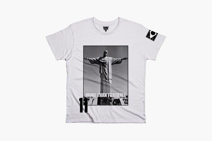 Марка Eleven Paris к чемпионату мира по футболу представила коллекцию футболок. Изображение № 13.