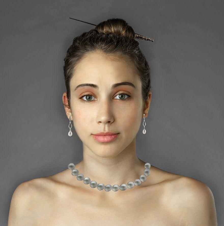 Как отличаются стандарты женской красоты в разных странах . Изображение № 21.