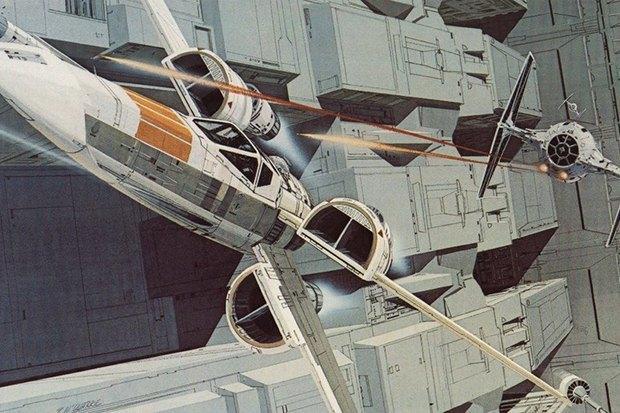 В сети появился оригинальный концепт-арт «Звёздных войн». Изображение № 11.