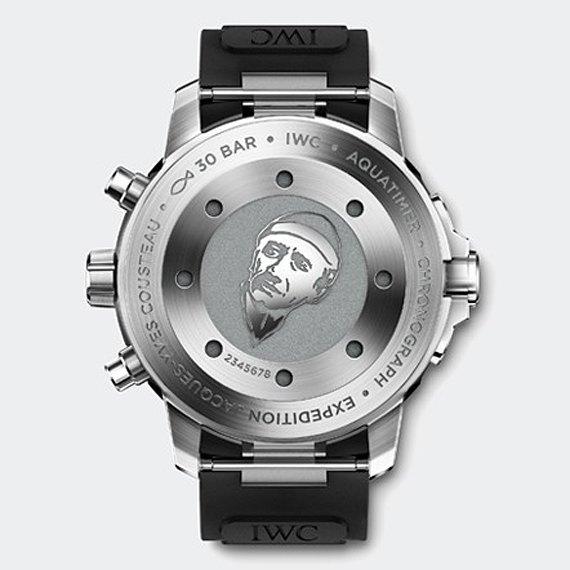 Марка IWC выпустила часы для дайверов в честь Жак-Ива Кусто. Изображение № 4.