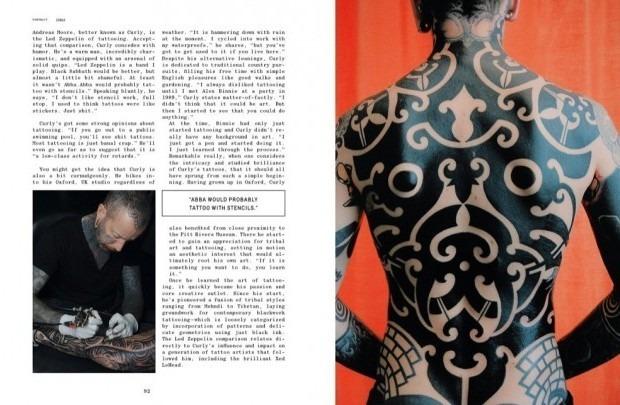 Выходит новая книга о культуре татуировок «Forever: The New Tattoo». Изображение № 9.