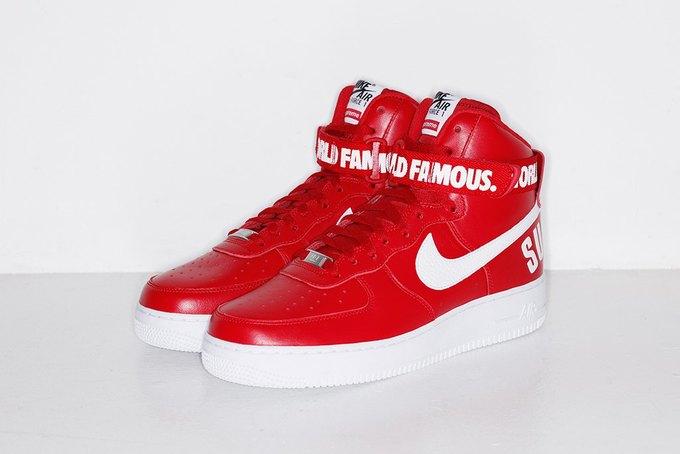Марки Supreme и Nike выпустили совместную коллекцию кроссовок. Изображение № 3.