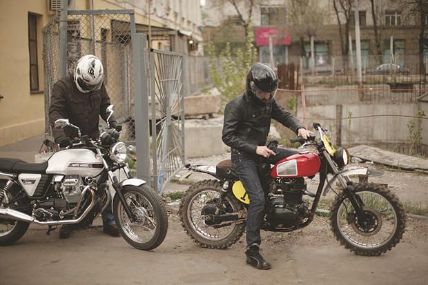 Репортаж со съемок тест-драйва мотоцикла Kawarna. Изображение № 3.