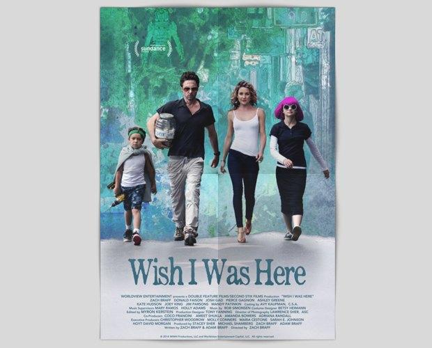 Трейлер дня: «Жаль, меня здесь нет». Комедийная драма в краудфандинговом проекте Зака Браффа. Изображение № 1.