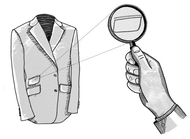 Внимание к деталям: Для чего нужен дополнительный карман на пиджаке. Изображение № 2.