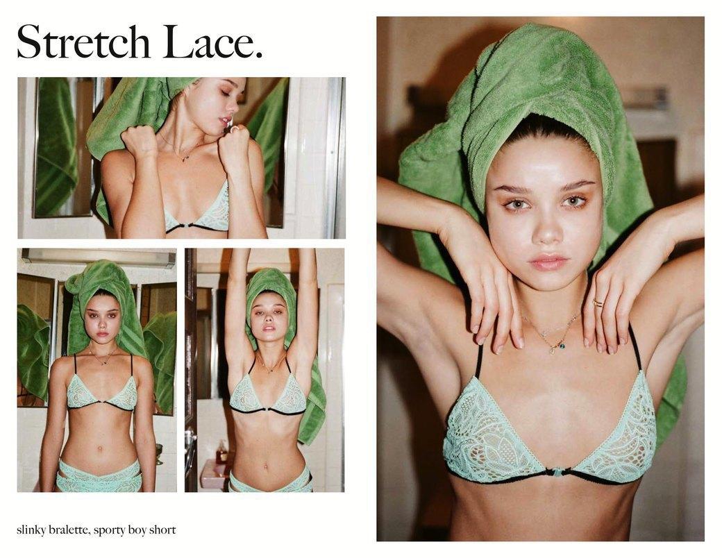 Эротический фотограф Хенрик Пурьенн снял лукбук женского белья для марки For Love & Lemons. Изображение № 18.