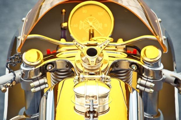 Мотоцикл немецкой мастерской Thunderbike победил в чемпионате мира по кастомайзингу. Изображение № 4.