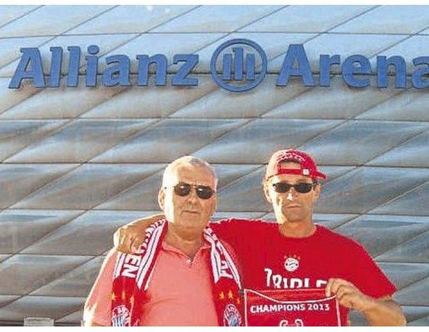 Болельщик «Баварии» прошел 960 километров пешком до стадиона. Изображение № 1.
