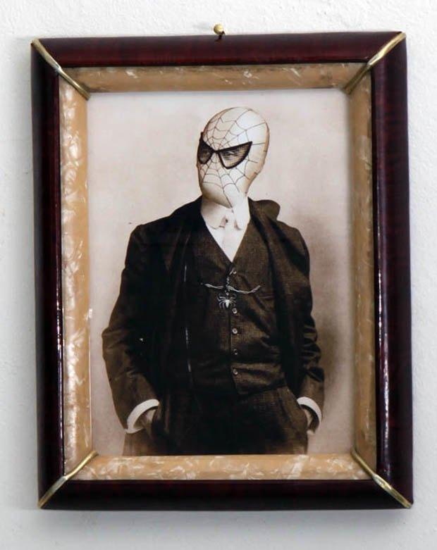 Foto Marvellini: Винтажный фотоальбом супергероев. Изображение № 29.