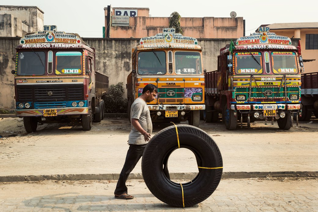 Я и друг мой грузовик: Индийские дальнобойщики и их автомобили. Изображение № 11.