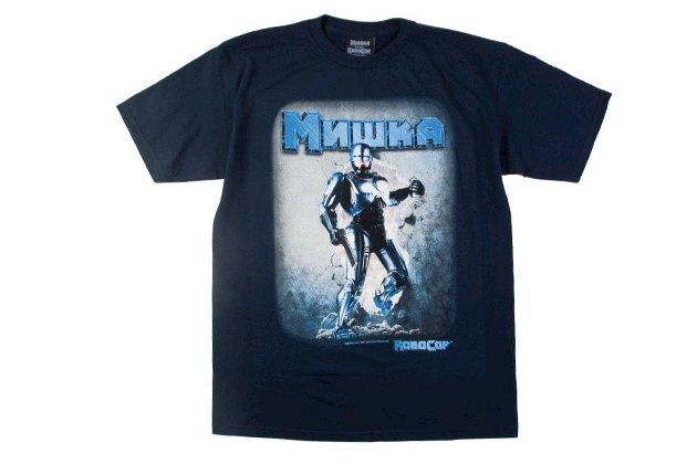 Марка Mishka выпустила коллекцию одежды в честь юбилея фильма «Робокоп». Изображение № 1.
