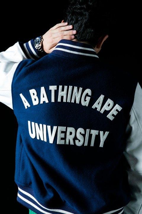 Марка A Bathing Ape опубликовала лукбук осенне-зимней коллекции. Изображение № 6.
