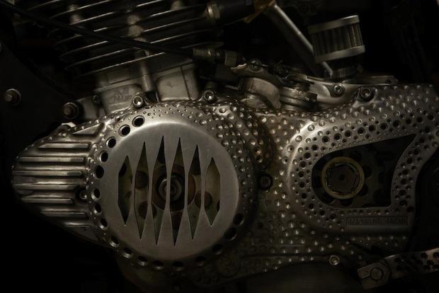 Испанская мастерская El Solitario изготовила мотоцикл Winning Loser. Изображение № 4.