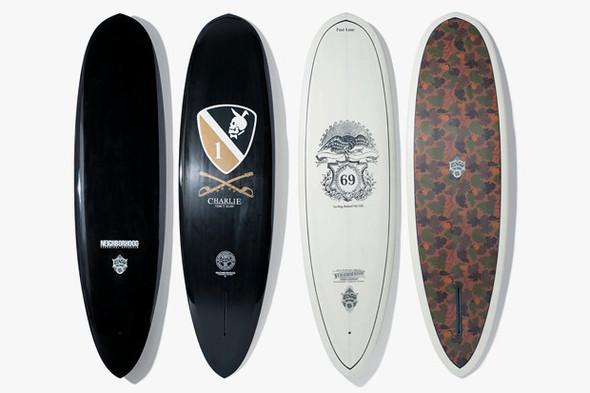 Коллекция досок для серфинга марок Neighborhood и Eno Surfboards. Изображение №1.