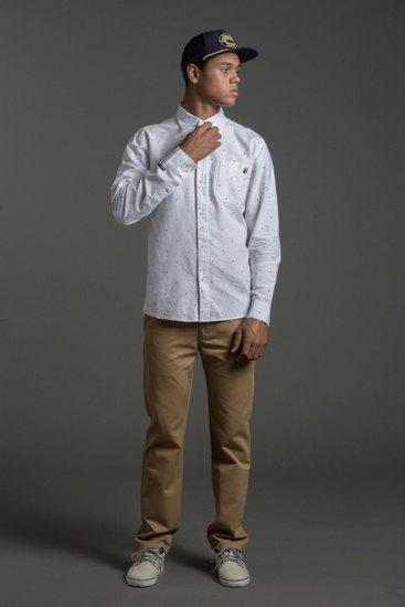 Марка The Hundreds опубликовала лукбук осенней коллекции одежды . Изображение № 8.