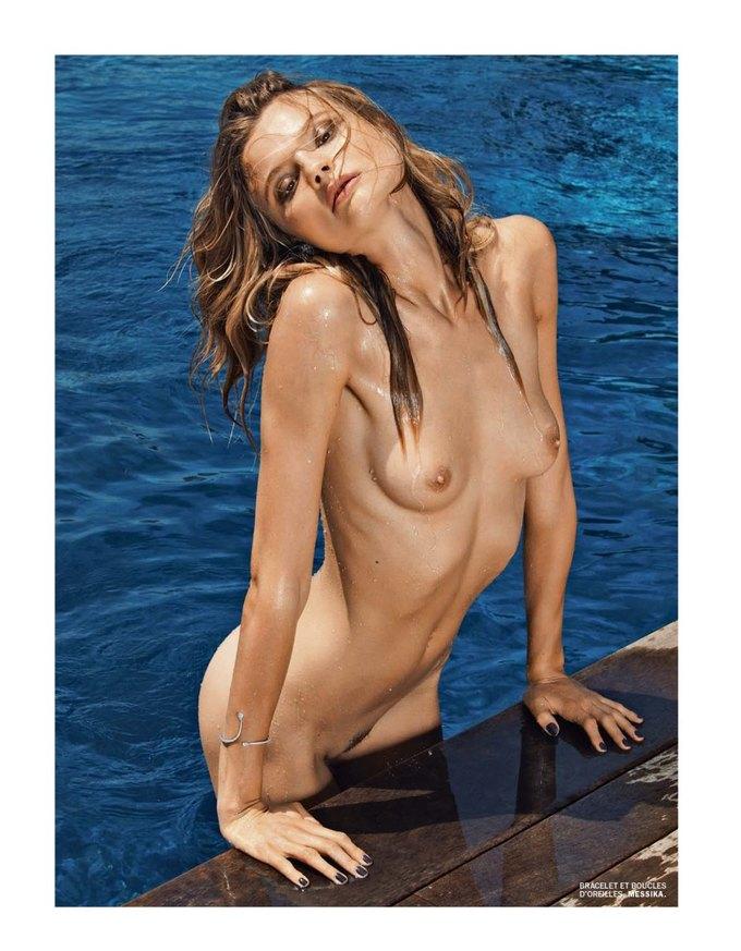 Магдалена Фраковяк сфотографировалась у Марка Сегала для июльского номера журнала Lui Magazine . Изображение № 6.