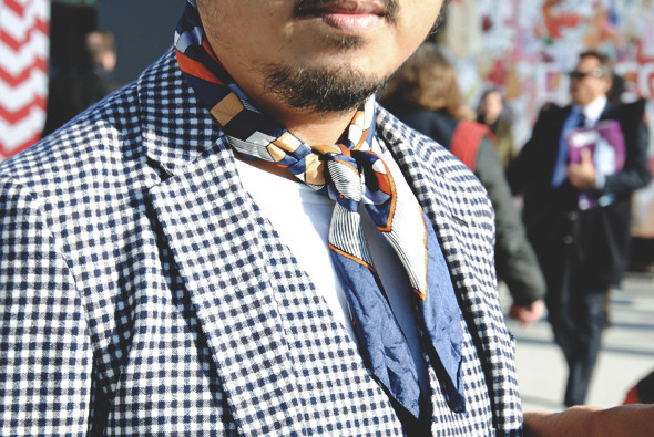 Детали: Репортаж с выставки мужской одежды Pitti Uomo. День первый. Изображение № 51.