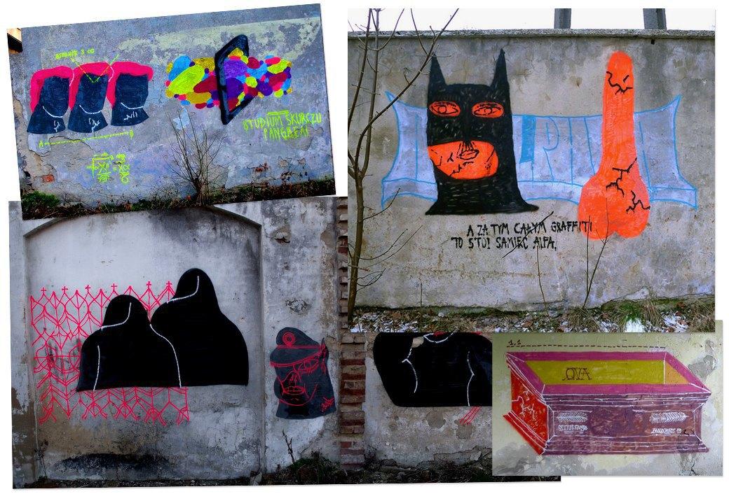 Банда аутсайдеров: Как уличные художники возвращают искусству граффити дух протеста, часть 2. Изображение № 10.