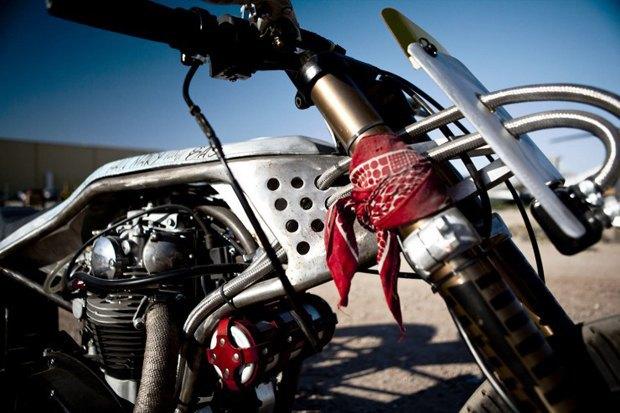 Мотомастерская Icon 1000 представила новый кастом на базе Yamaha XS650 . Изображение № 2.