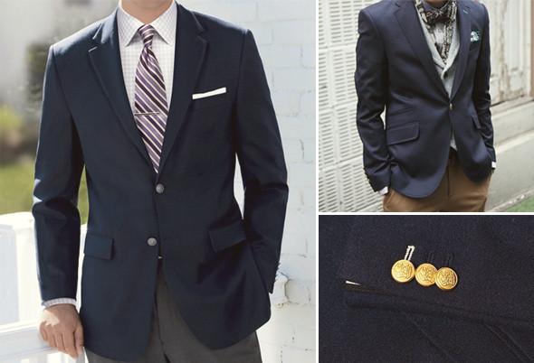 Как правильно носить и выбирать блейзеры — пиджаки на медных пуговицах. Изображение № 1.