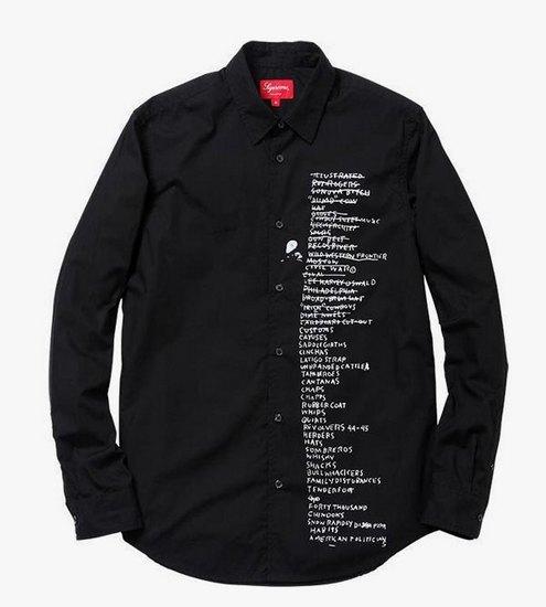 Supreme выпустили коллекцию одежды с работами Жан-Мишеля Баския. Изображение № 13.
