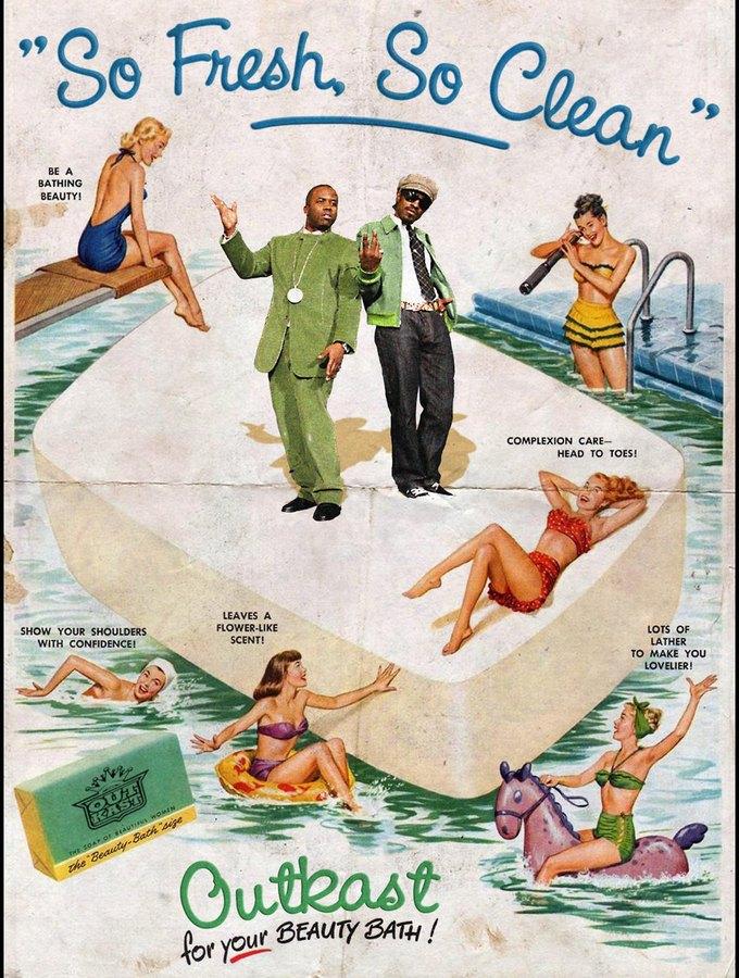 Ads Libitum: Звезды поп-культуры на винтажных рекламных плакатах. Изображение № 21.