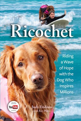 В США вышла книга про собаку-серфера по кличке Рикошет. Изображение № 1.