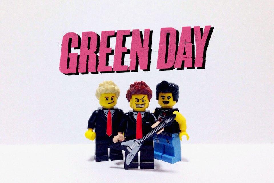 Lego-go: Культовые группы в виде фигурок из конструктора LEGO. Изображение № 4.