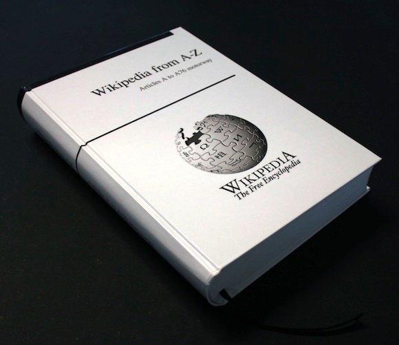 Немецкая компания собирает средства для печати бумажной Википедии объёмом 1 млн страниц. Изображение № 1.