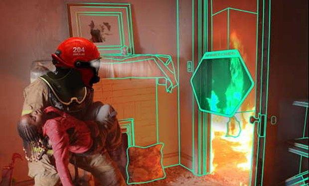 В Швеции создали шлем пожарного с функцией дополненной реальности. Изображение № 3.