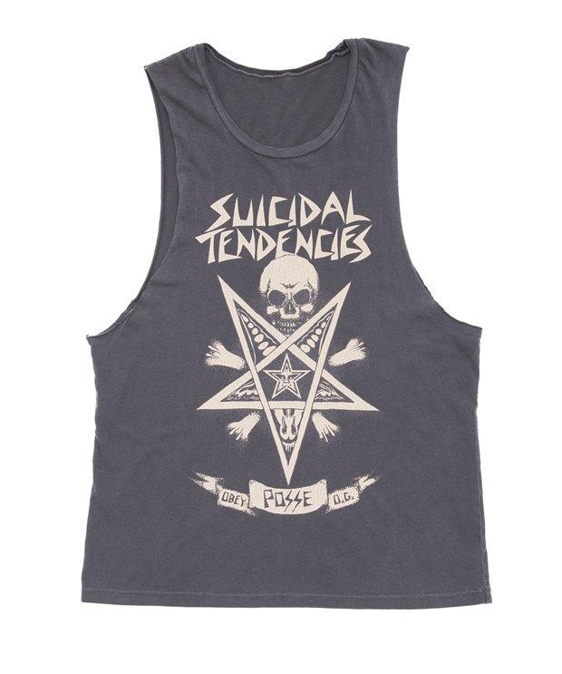 Марки Obey и группа Suicidal Tendencies выпустили совместную коллекцию одежды. Изображение № 7.