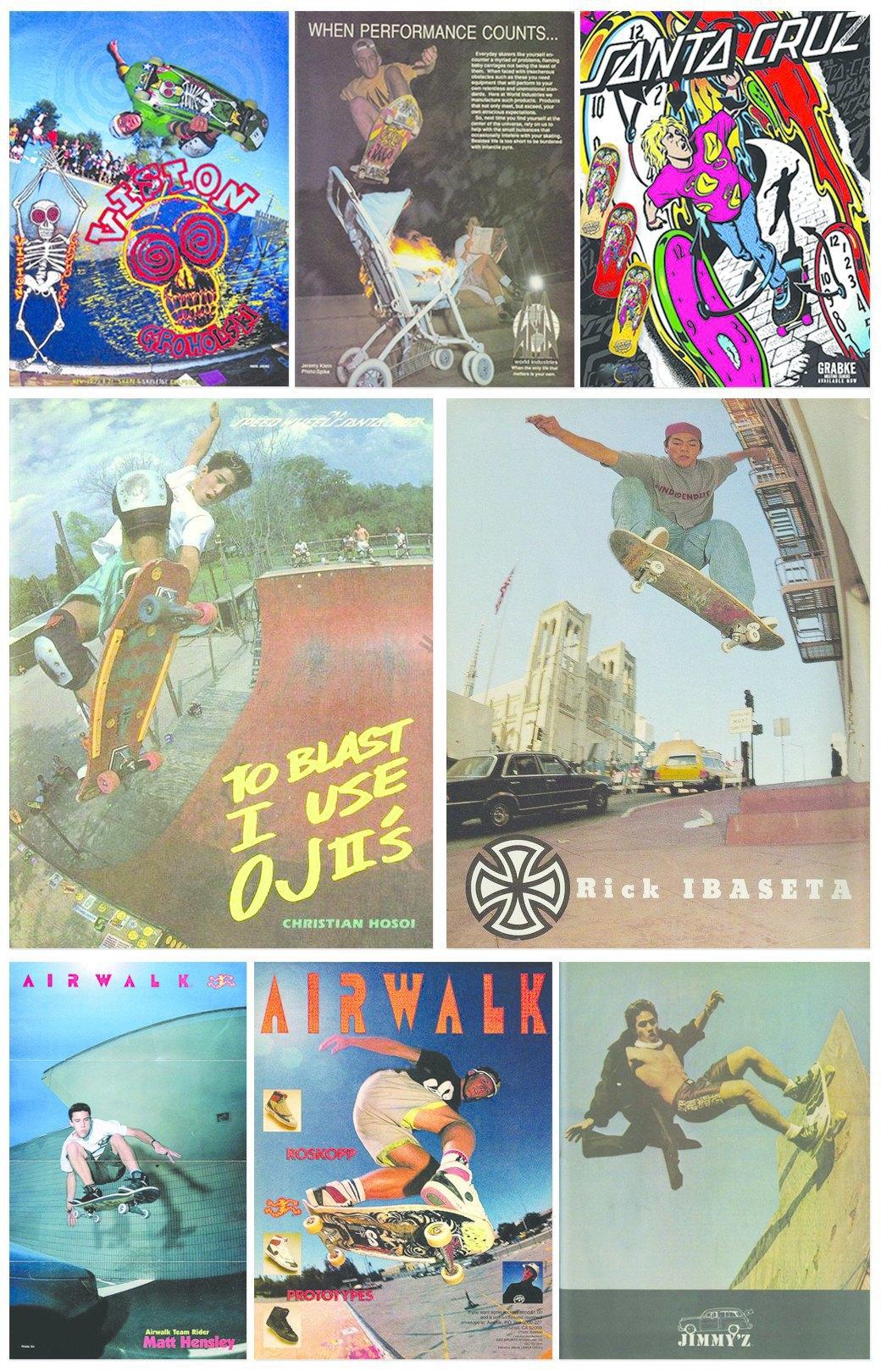 Old Skate Adverts: Залежи винтажных скейт-афиш в формате одного тумблера. Изображение № 1.