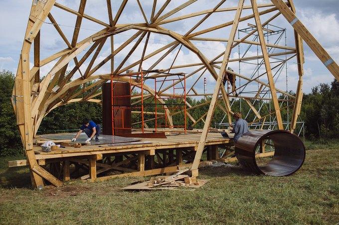 Фоторепортаж: Строительство объектов фестиваля Outline. Изображение № 2.