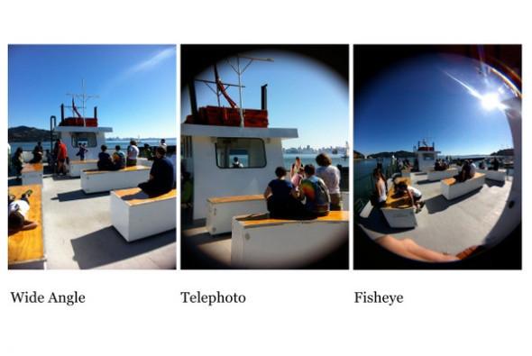 Корпус для iPhone с тремя фотообъективами. Изображение № 1.