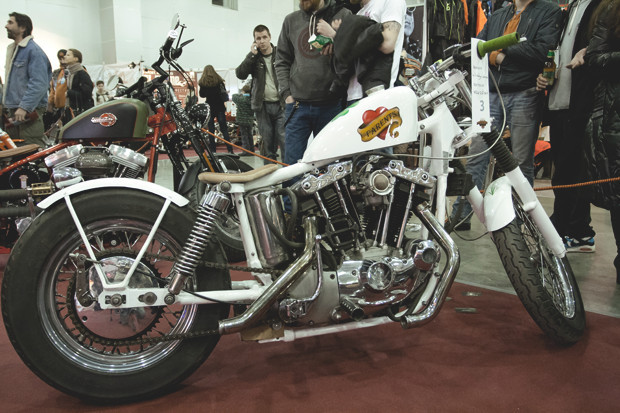 Лучшие кастомные мотоциклы выставки «Мотопарк 2012». Изображение № 2.