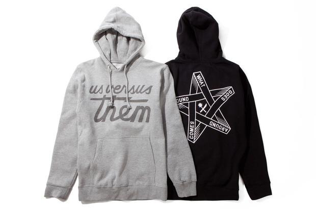 Американская марка Us Versus Them представила осеннюю коллекцию одежды. Изображение № 1.