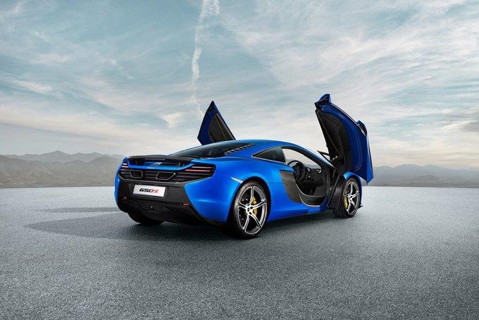 McLaren представил новый суперкар 650S. Изображение № 3.