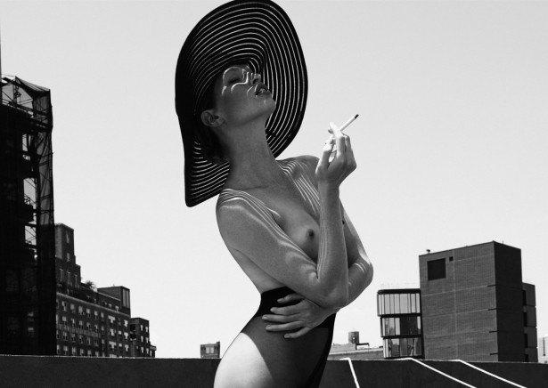 Американская модель Хайде Линдгрен снялась обнаженной для журнала Treats!. Изображение № 6.