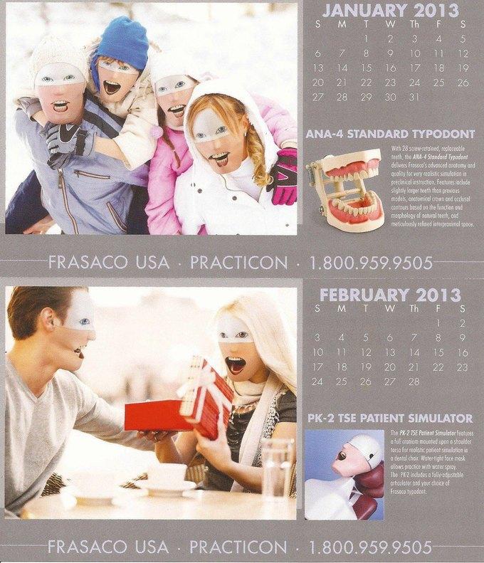 Стена плача: Худшие календари на 2014 год. Изображение № 50.