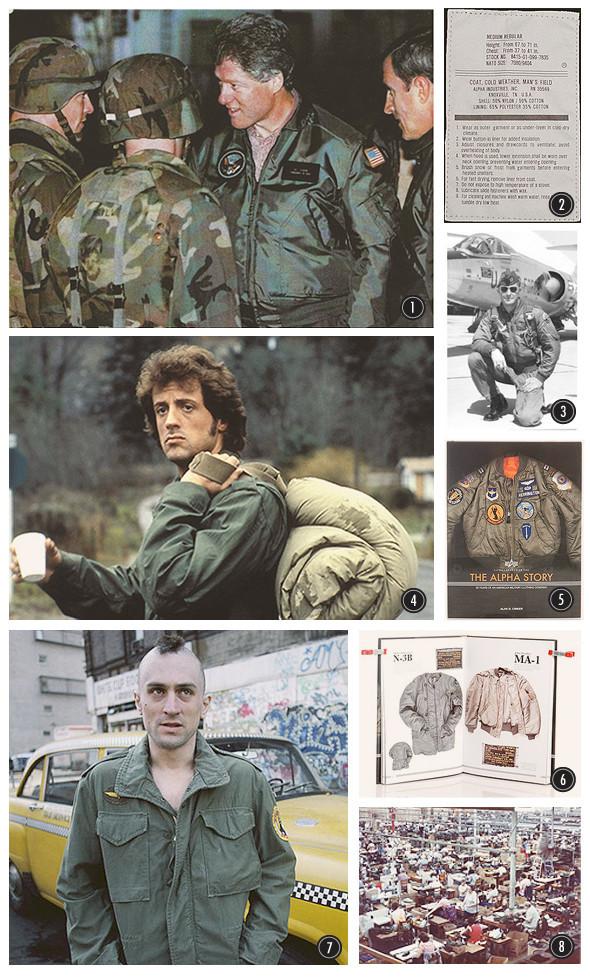 История и канонические модели военных курток Alpha Industries. Изображение № 5.